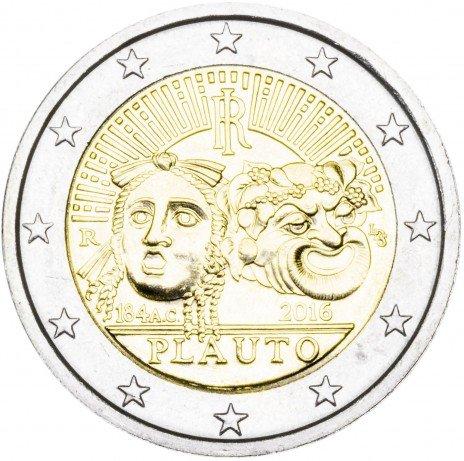 купить Италия 2 евро 2016 2200-летие со дня смерти Плавта