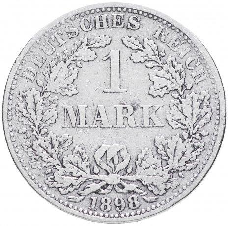 """купить Германия 1 рейх марка 1898 """"А"""""""