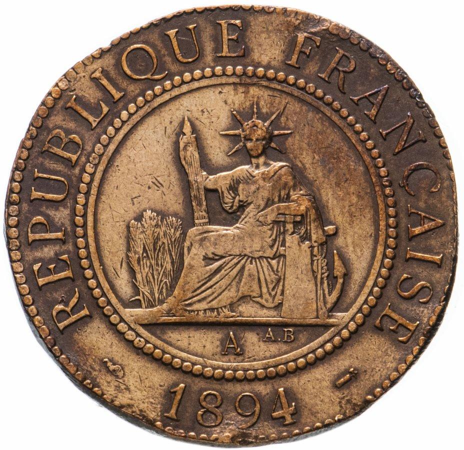 купить Французский Индокитай 1 сантим (centime) 1894