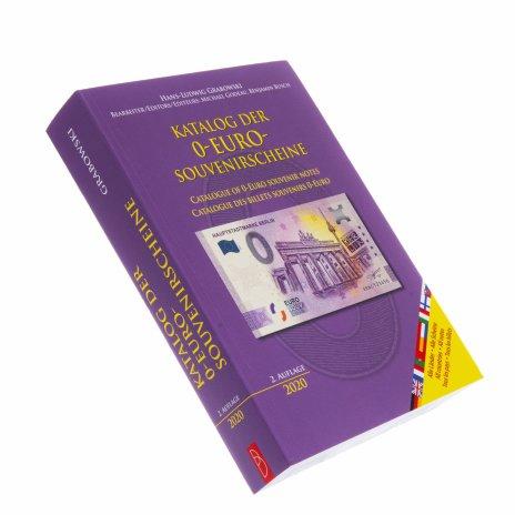 купить Каталог банкнот номиналом 0 евро (2-е издание 2020)