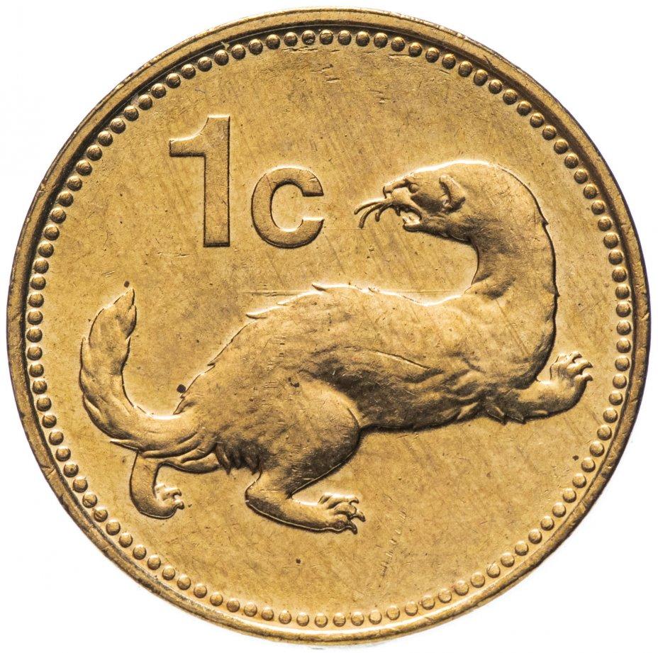 купить Мальта 1 цент (cent) 2001