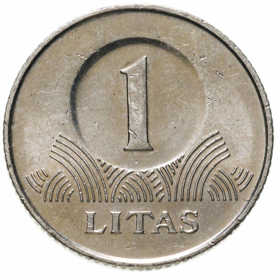 купить Литва 1 лит (litas) 2009