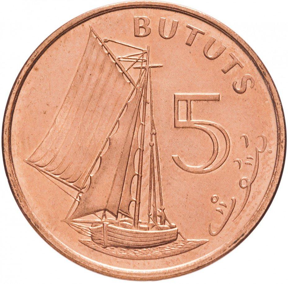 купить Гамбия 5 бутутов 1998