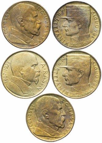 купить Чехословакия набор из 5 монет  1990-1993
