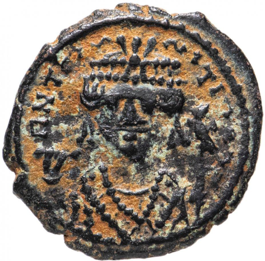 купить Византийская империя, Тиберий Константин, 578-582 годы, 1/4 фоллиса.