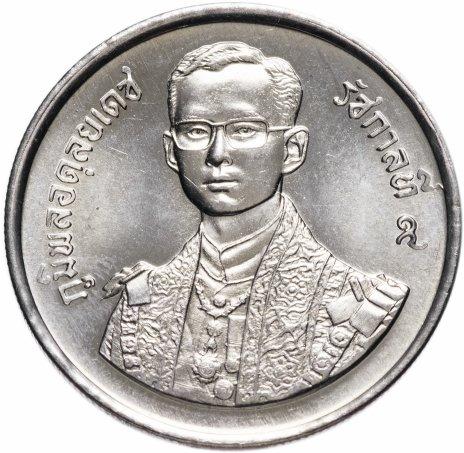 """купить Таиланд 5 бат 1987 """"60 лет со дня рождения Короля Рамы IX"""""""