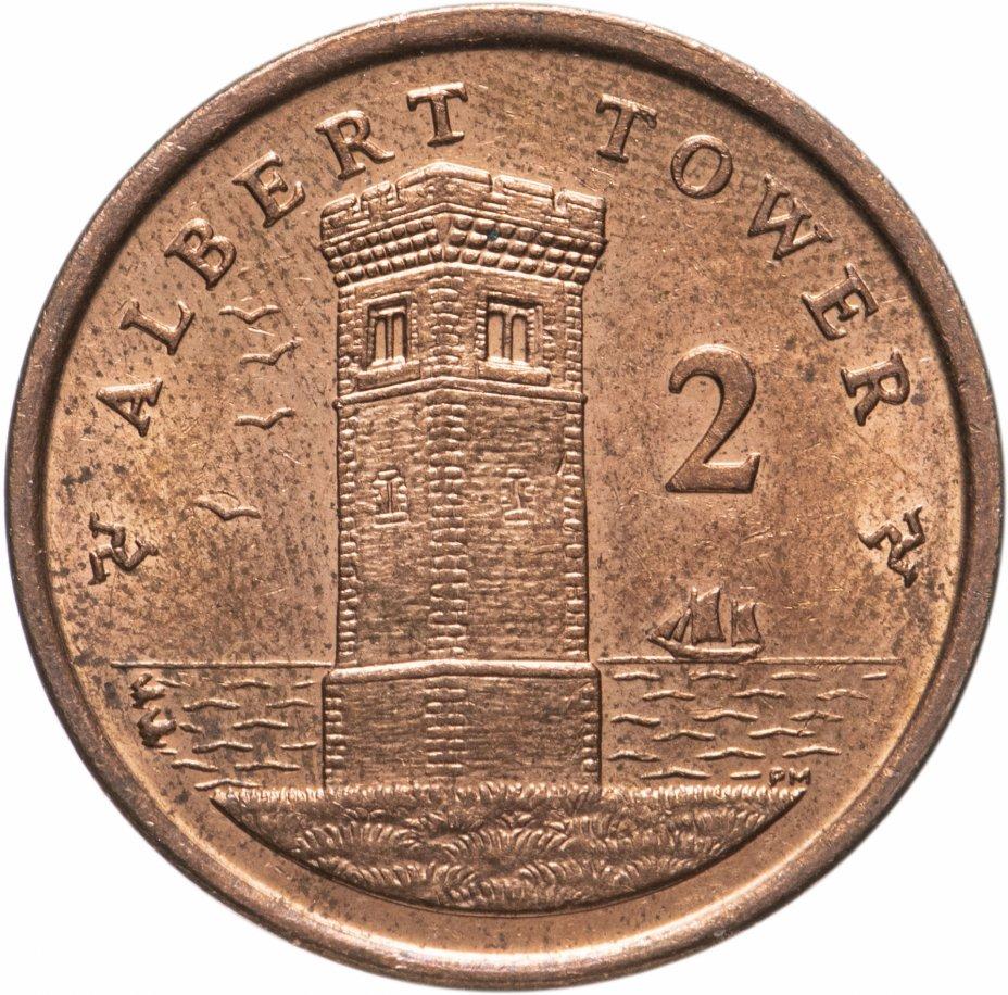 купить Остров Мэн 2 пенса (pence) 2004-2016, случайная дата