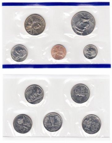 купить США годовой набор 2000 P (10 монет) в запайке