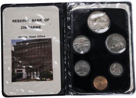 купить Зимбабве набор монет 1980 (6 штук) в буклете