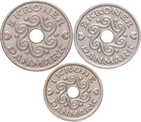 купить Дания набор монет 1992-1994 (3 монеты)