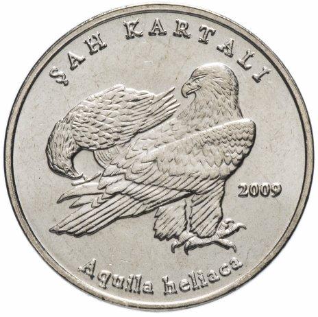 "купить Турция 1 лира (lira) 2009   ""Фауна Турции - Орел"""