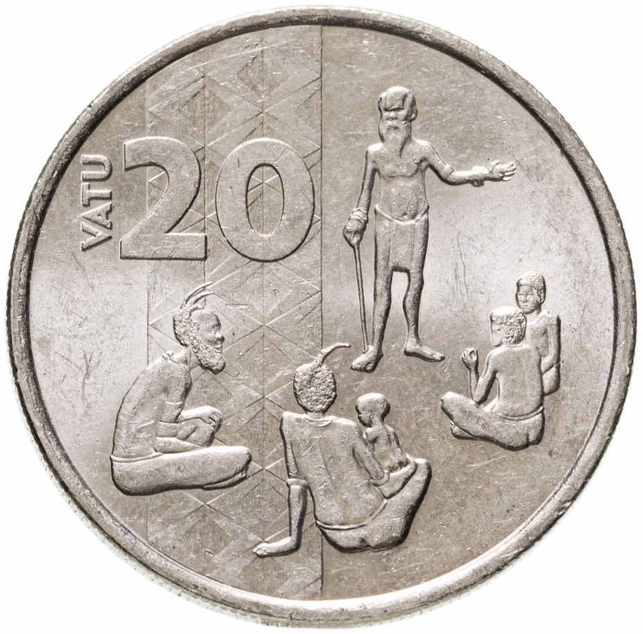 купить Вануату 20 вату (vatu) 2015