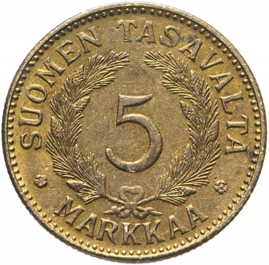 купить Финляндия 5 markkaa (марок) 1946 S