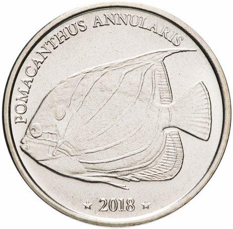 """купить Западное Самоа 10 франков 2018 """"Ангел-анулярис"""""""