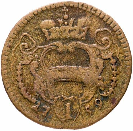 купить Австрия 1 пфеннинг 1759