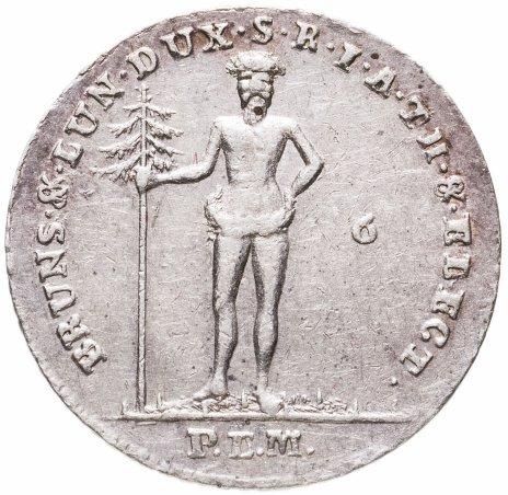 купить Брауншвейг-Люнебург 1/6 талера 1794