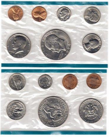 купить США годовой набор 1974 Р (7 монет)