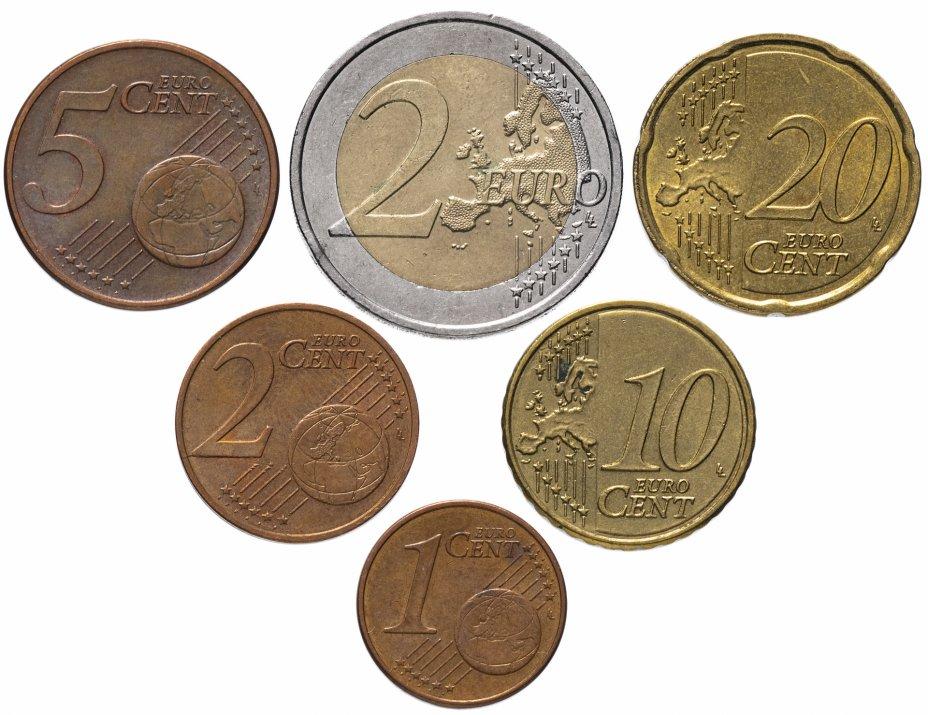 купить Австрия полный годовой набор евро для обращения 2014 (6 штук, VF-XF)