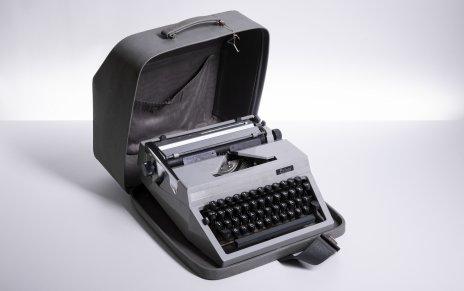 """купить Печатная машинка """"Erika"""" в родном кофре, с инструкцией, металл, пластик, Германия, 1970-1990 гг."""