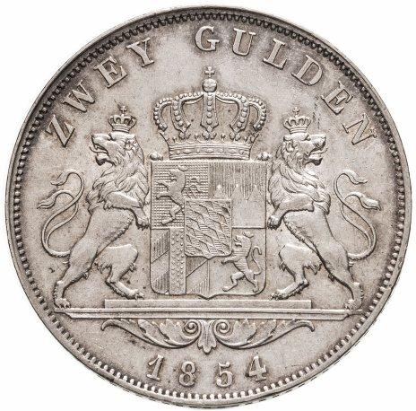 купить Бавария 2 гульдена 1854