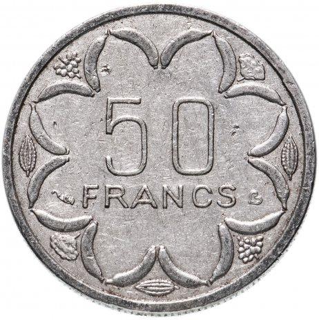 купить Центральная Африка (BEAC) 50 франков (francs) 1996-2003, случайная дата