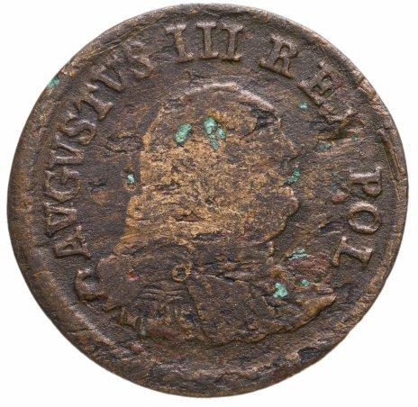 купить Польша 1 грош 1754 Август III