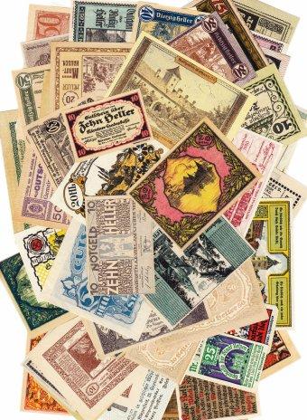 купить Германия, Австрия случайный нотгельд 1917-1922