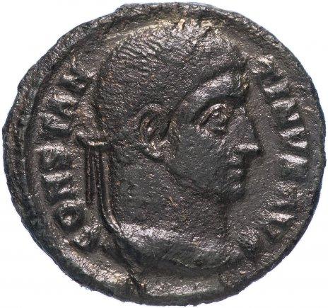 купить Римская Империя Константин I 306-337 гг фоллис (реверс: надпись внутри лаврового венка)