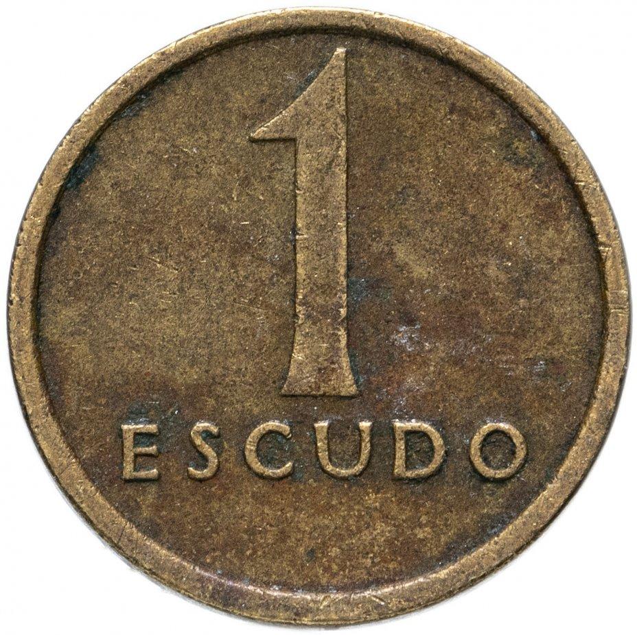 купить Португалия 1 эскудо (escudo) 1981-1986, случайная дата