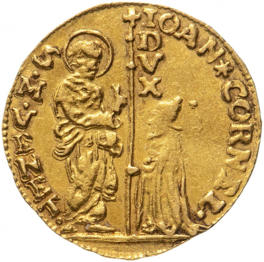 купить Золотой дукат (цехин) Венеция, дож Джованни II Корнер (1709-1722)