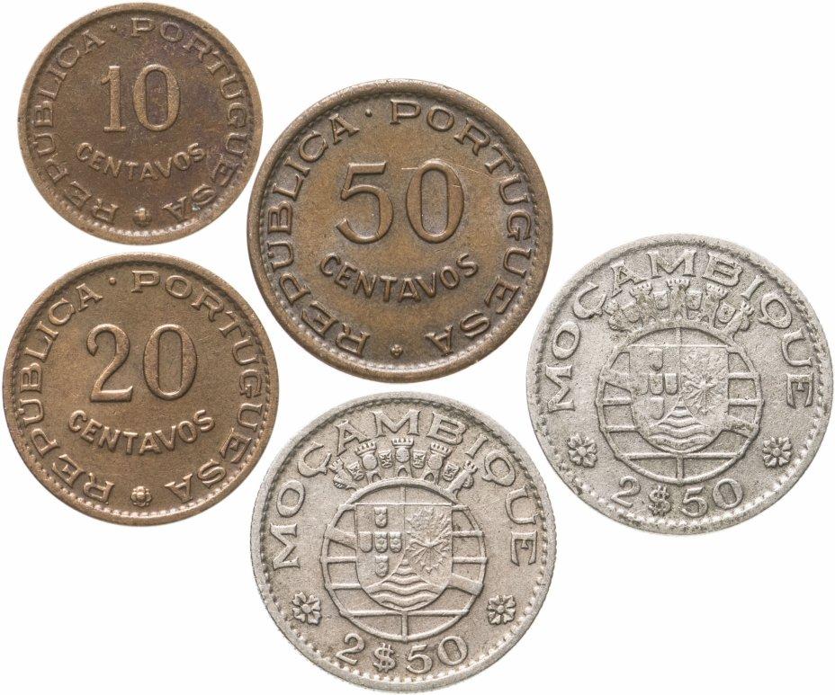 купить Мозамбик набор из 5 монет 1954-1961