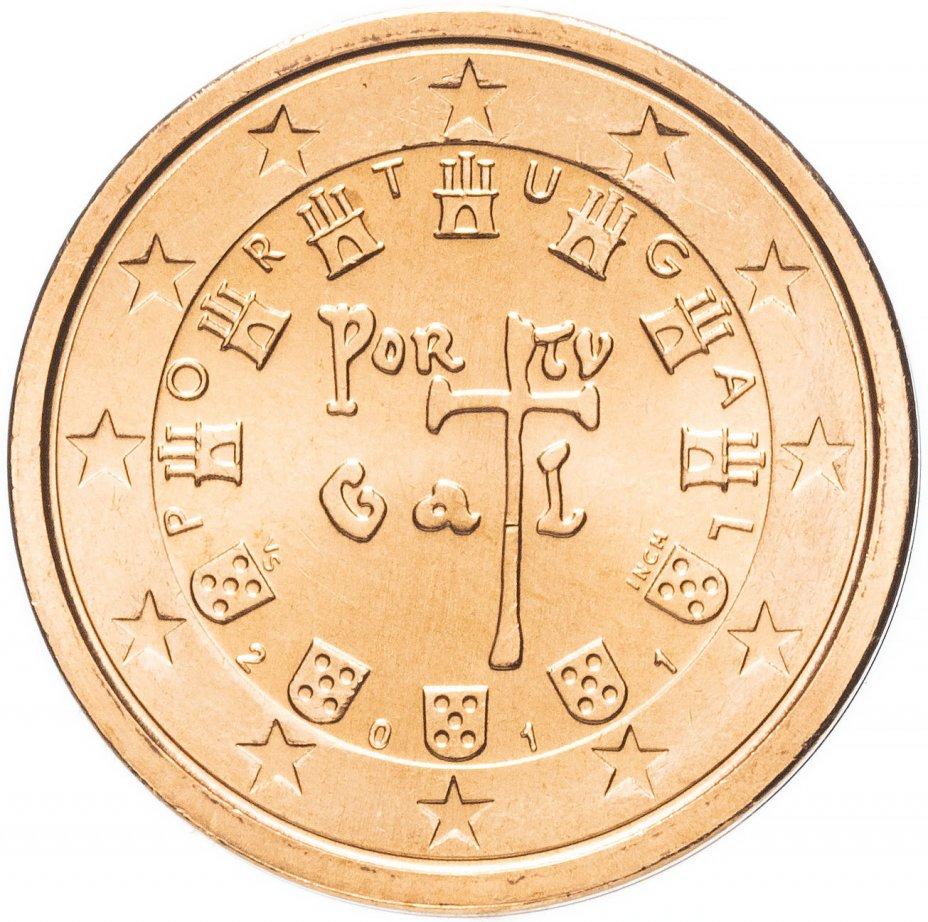 купить Португалия 2 евро цента 2011