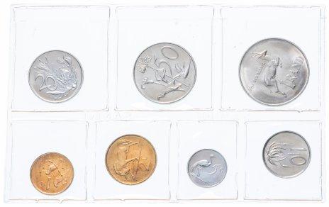 купить ЮАР набор монет 1984 (7 монет вы запайке)