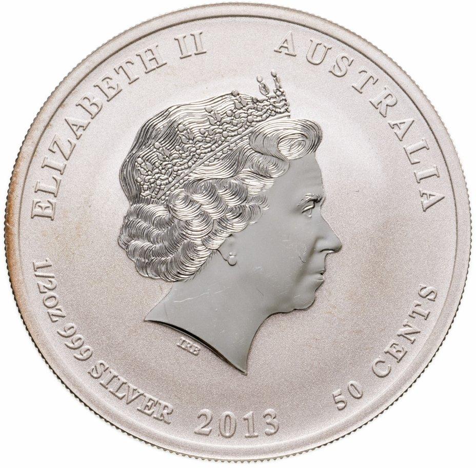 """купить Австралия 50 центов 2013 """"Год змеи"""""""
