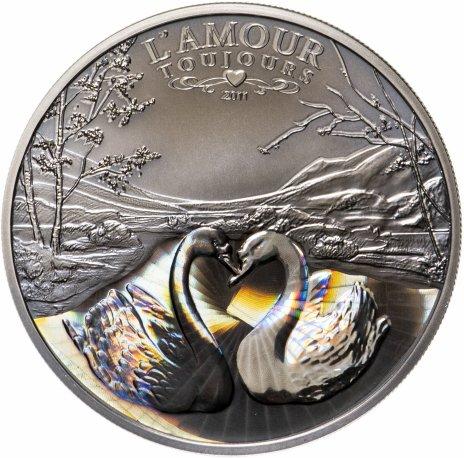 купить Камерун 1000 франков 2011 «Лебеди любви»
