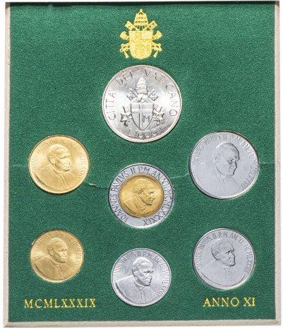 купить Ватикан, набор из 6 монет 1989 в буклете