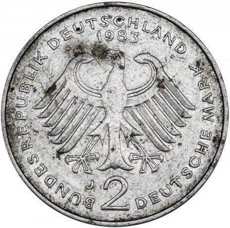 купить Германия 2 марки 1983