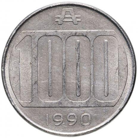 купить Аргентина 1000аустралей (australes) 1990