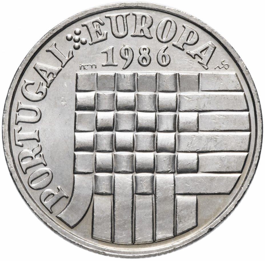 купить Португалия 25 эскудо 1986 «Вступление в зону свободной торговли Европы»