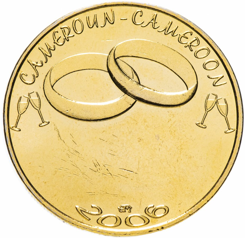 """купить Камерун 7500 франков (francs) 2006 """"Свадьба"""""""
