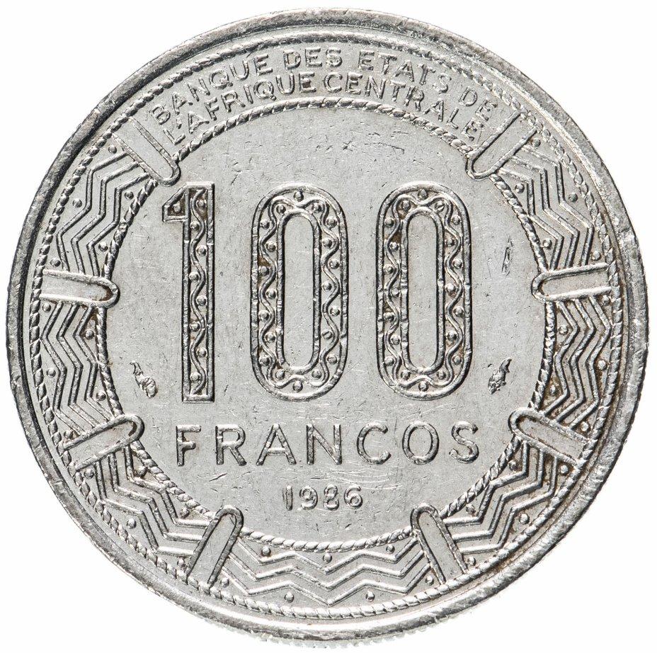 купить Экваториальная Гвинея 100 франков (francs) 1986