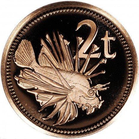 купить Папуа — Новая Гвинея 2 тао 1975