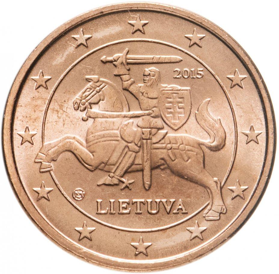 купить Литва 1 цент 2015