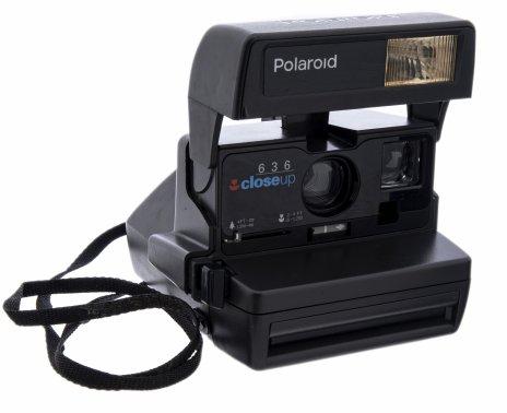 """купить Фотоаппарат """"Polaroid 636 Closeup Instant camera"""", пластик, Великобритания, 1980-1990 гг."""