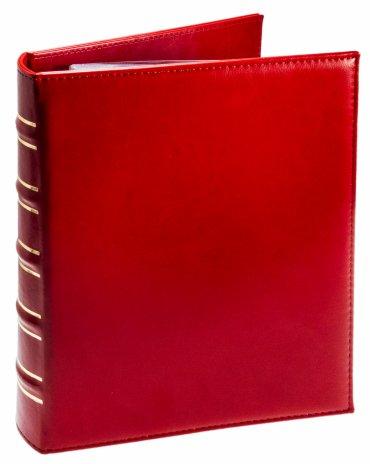 купить Альбом вертикальный «Элит» с листами для 100 бон (40 листов) красный