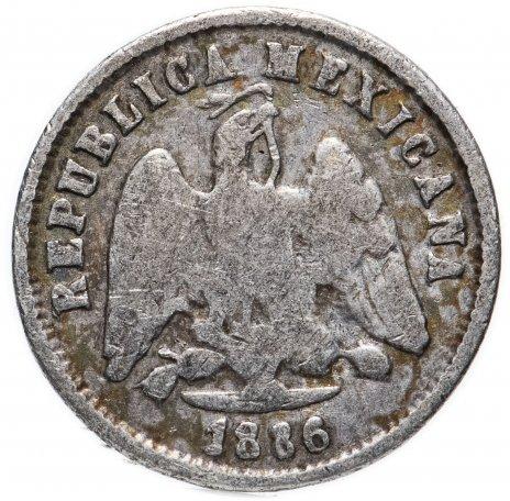 купить Мексика 10 сентаво (centavos) 1886