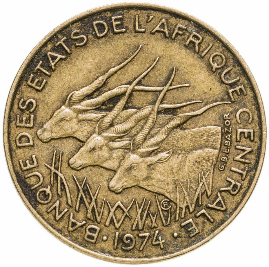 купить Центральная Африка (BEAC) 10 франков (francs) 1974