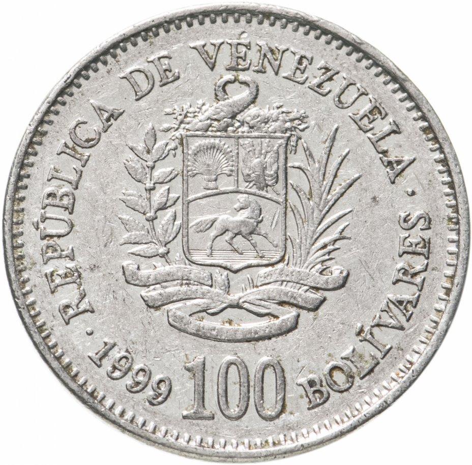 купить Венесуэла 100 боливаров (bolivares) 1999