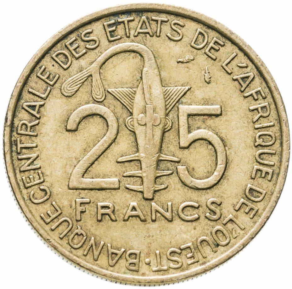 купить Западная Африка (BCEAO) 25 франков (francs) 1978