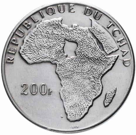 купить Республика Чад 200 франков 1970